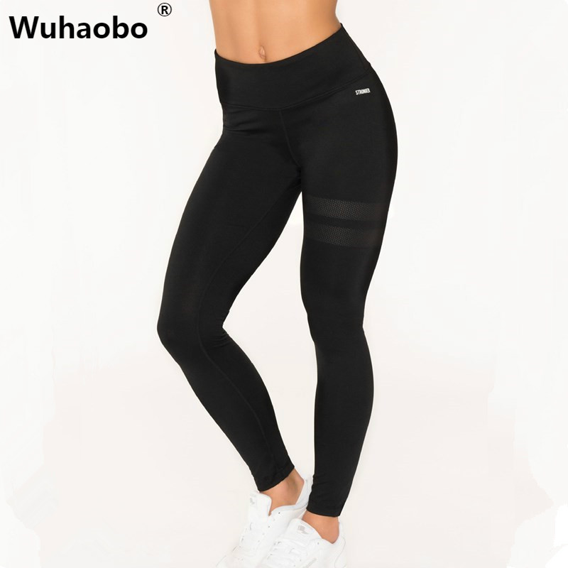 Wuhaobo Contrast Waist Skinny Leggings Color Block Workout Clothes for Women Burgundy Active Wear Womens Leggings ...