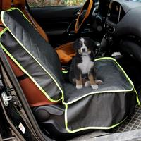TPFOCUS Waterproof Front Car Seat Mat Protector with Buckle for Pet Dog Supplies