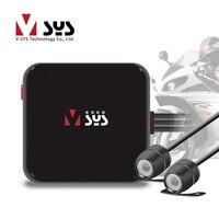sys C6L Mini Motorcycle DVR Camera Recorder D1 Dual Separate Waterproof Lens Dedicated Design for Motorbike