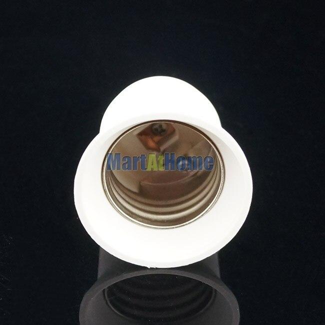 100 шт. Светодиодный лампа для светильника Базовый адаптер для лампы E12 для E27 конвертер# BK015@ EF