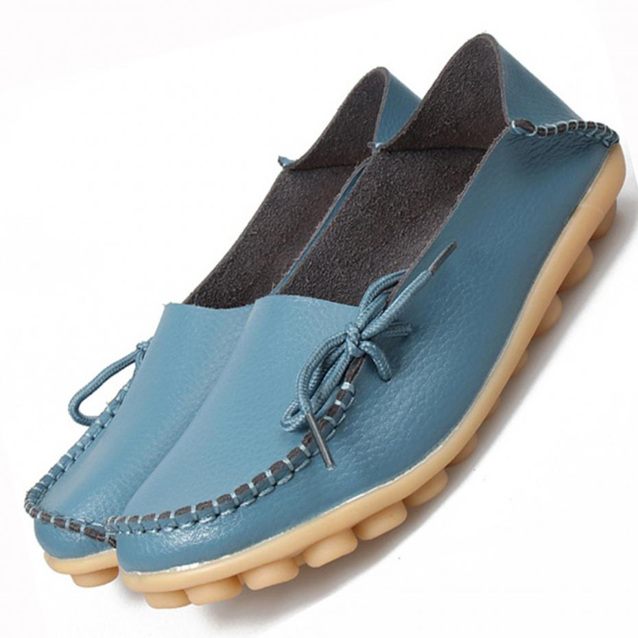 New Women Real Leather Shoes Moccasins Mother Loafers Soft Leisure Flats Female Driving Casual Footwear Size 35-43 In 20 Colors corporate real estate management in tanzania