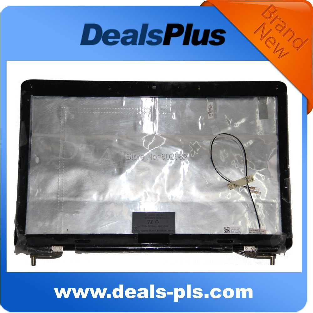 ФОТО New For DELL STUDIO 1545 1546 LCD LID COVER +LCD BEZEL +HINGES  P/N: 0M219M M219M Grade A- Free Shipping