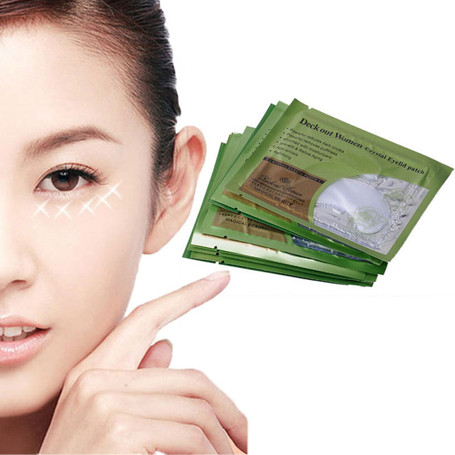 5 Pairs Anti Aging Dark Circle Collagen 24k Gold Eye Patches Pad Mask Bag Gel Un Cover Up By RMS Beauty