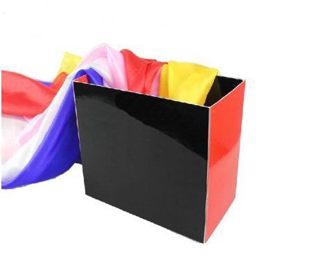 Free Shipping Silk Fountain Box 2 - Magic Tricks,Fire Magic,Close Up,Stage,Accessories,Props