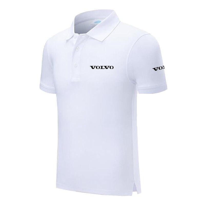 Design Brand Volvo Logo Custom Men and women   Polo   Shirts Plus Size   Polo   Shirt Men Clothing
