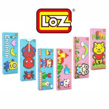 LOZ Pencil case blocks pokemon go Blocks educational toys Pikachu Charmander Bulbasaur Squirtle Mewtwo anime Toys for children
