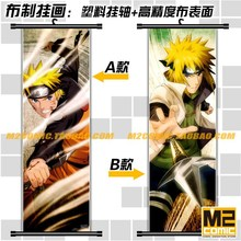 Home Decor decorative HD cartoon anime scroll paintings mural poster printed art cloth canvas paintings wall picture gift Naruto