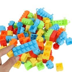 90 peças Empilhar Blocos de Construção de Brinquedos de Construção crianças adoram buliding blocos brinquedos educação infantil brinquedos de montagem de Plástico