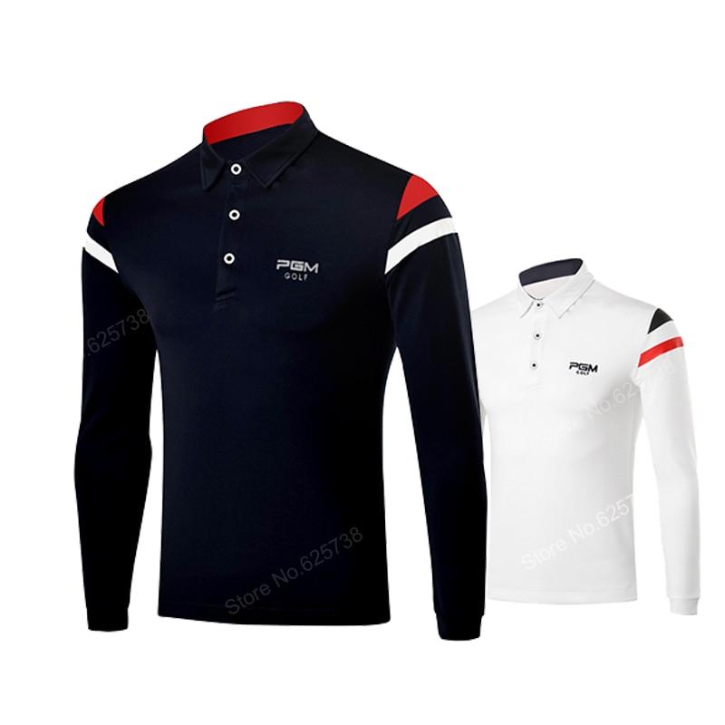 2017 Spring Pgm Men Golf Shirts Sports Clothes Top Sports
