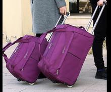 20 24 Дюймов Путешествия Роллинг Багажа Мешок доказательство Воды Путешествия колесный багаж, сумки Тележки багаж чемодан Дорожная сумка на колесах мешок