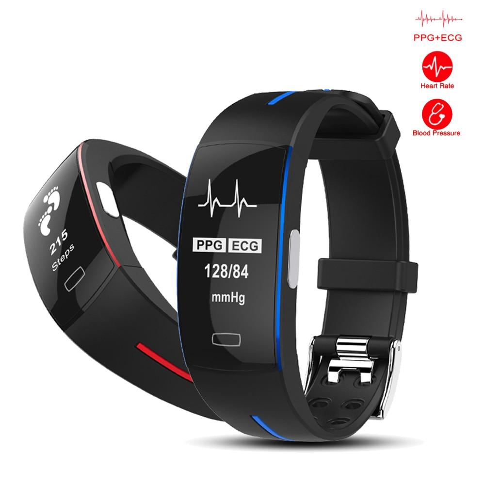 TOP smart watch 2018 nouveau IP67 smart étanche intelligent fréquence Cardiaque Podomètre Smartwatch Montre-Bracelet femmes montres smart hommes montre