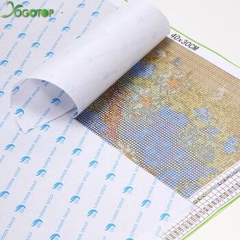картины озер | Yogotop DIY Алмазная вышивка крестиком на рисунке, набор полная Алмазная вышивка 5D мозаика домашний декор природа Каньон пейзаж с озером 5 шт. ML448