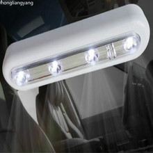 180*45*25MM AAA Battery led car light Truck suv universal glue WHITE YELLOW FREE SHIPPING