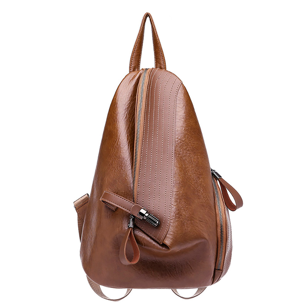 Fashion Women Backpack High Quality Youth Leather Backpacks For Teenage Girls Female School Shoulder Bag 18sep