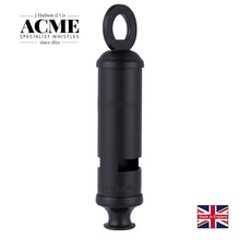 ACME Metropolitan15 limited carbon black metal police whistle British original laser lettering rescue survival