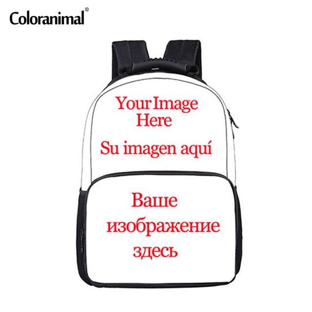 Coloranimal Welcome Custom Unisex Backpack Men Women Travel Bagpack Cool 3D  Print Children Boys Girly School Back Pack Rucksack df68ddefa8
