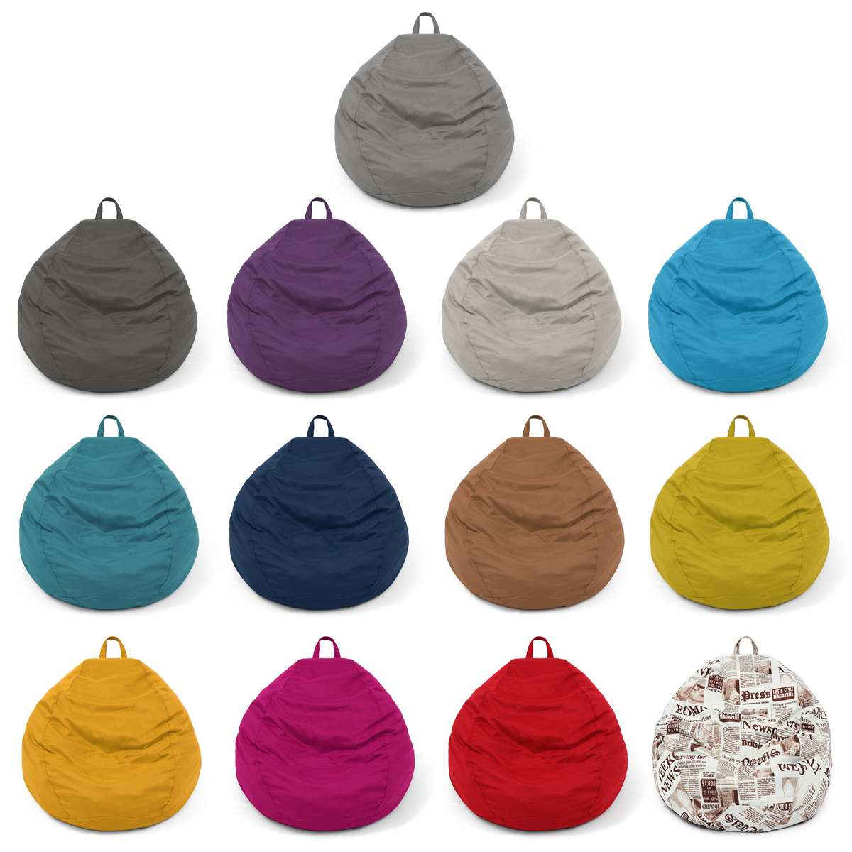 Large Small Lazy BeanBag Sofas Cover Chairs Without Filler Lounger Seat Bean Bag Pouf Puff Couch Tatami Living Room