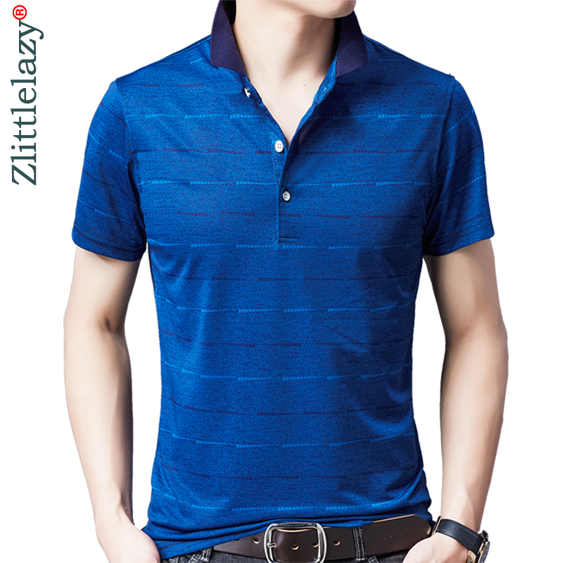2019 brand casual summer striped short sleeve   polo   shirt men poloshirt jersey luxury mens   polos   tee shirts dress fashions 50535