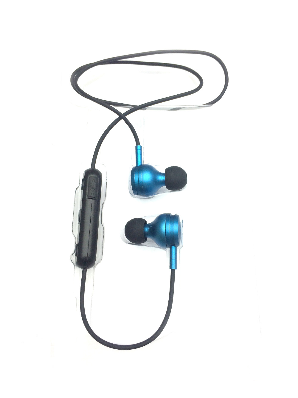Hutmtech M8 bluetooth earphone sport runnging Noise Cancelling earphones with microphone bluetooth Earpiece For Xiaomi Iphone