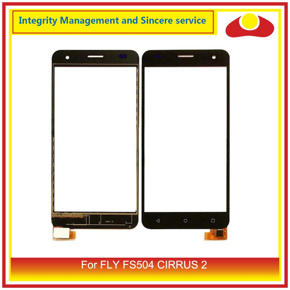 ORIGINAL For <font><b>FLY</b></font> FS504 CIRRUS 2 Digitizer Touch Panel Screen Sensor Outer Glass Lens For <font><b>Fly</b></font> <font><b>FS</b></font> <font><b>504</b></font> Touchscreen image