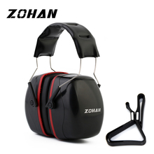 ZOHAN Noise Reduction Safety EarMuffs NRR 35dB Shooters Hearing Protection Earmuffs Adjustable Shooting Ear Protection Protector
