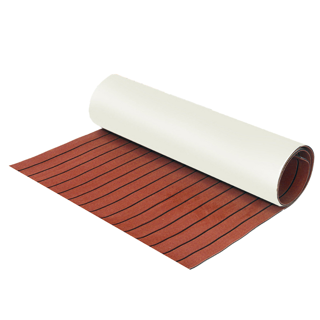 Image 4 - 1 Pcs 6mm Thick Self Adhesive 94x23'' Foam Teak Decking EVA Foam Marine Flooring Boat Decking Sheet Accessories 6 Color Non skid-in Marine Hardware from Automobiles & Motorcycles