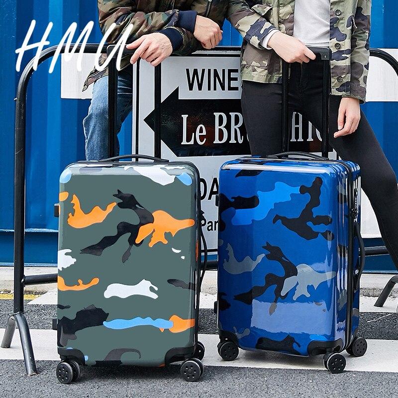 20 дюймов девушка прекрасный трав багаж, девушка конфеты сращивания цвет hardcase багаж тележки на универсальных колесах - 5