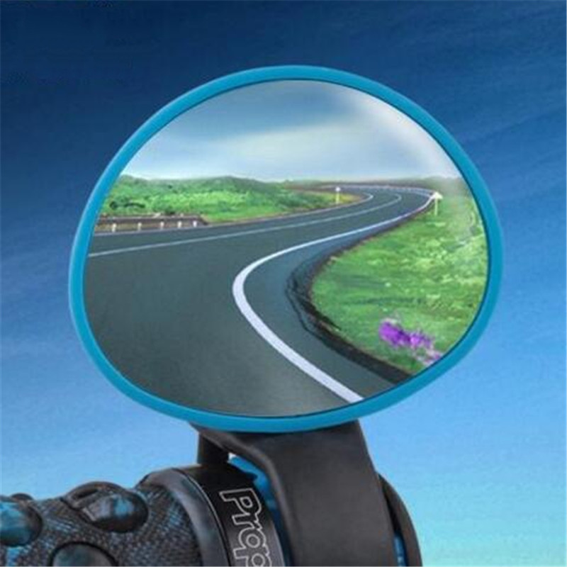 Rotatable Flexible Bicycle Bike Cycling sports Handlebar End Rearview Back View side Mirror Adjustable 45*58*90MM