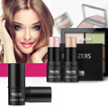 Magical Halo Makeup Set Shimmer Stick + Double Color Stereo Bronzing Powder + 6 Color Concealer Camouflage Makeup Cosmetic