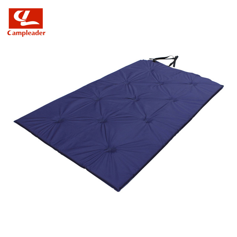 2016 New Automatic Inflatable Camping Mat Outdoor Air Mattress Tent Groundsheet Double Layer Camping mat for Picnic Family party high quality outdoor 2 person camping tent double layer aluminum rod ultralight tent with snow skirt oneroad windsnow 2 plus