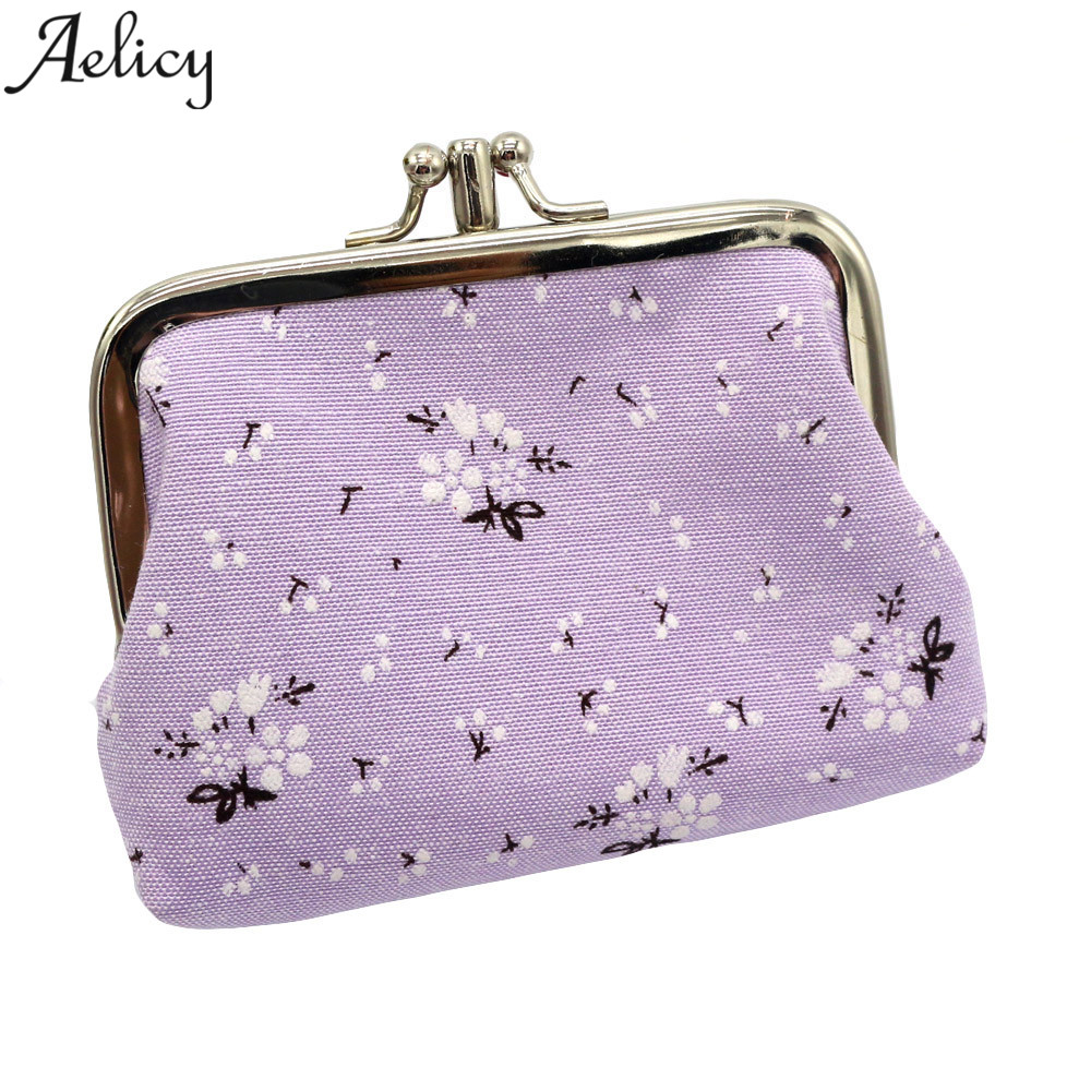 Ladies Classic Retro Small Change Coin Purse Key Car Pouch Money Bag Cheapest Girl's Mini Short Coin Holder Wallet