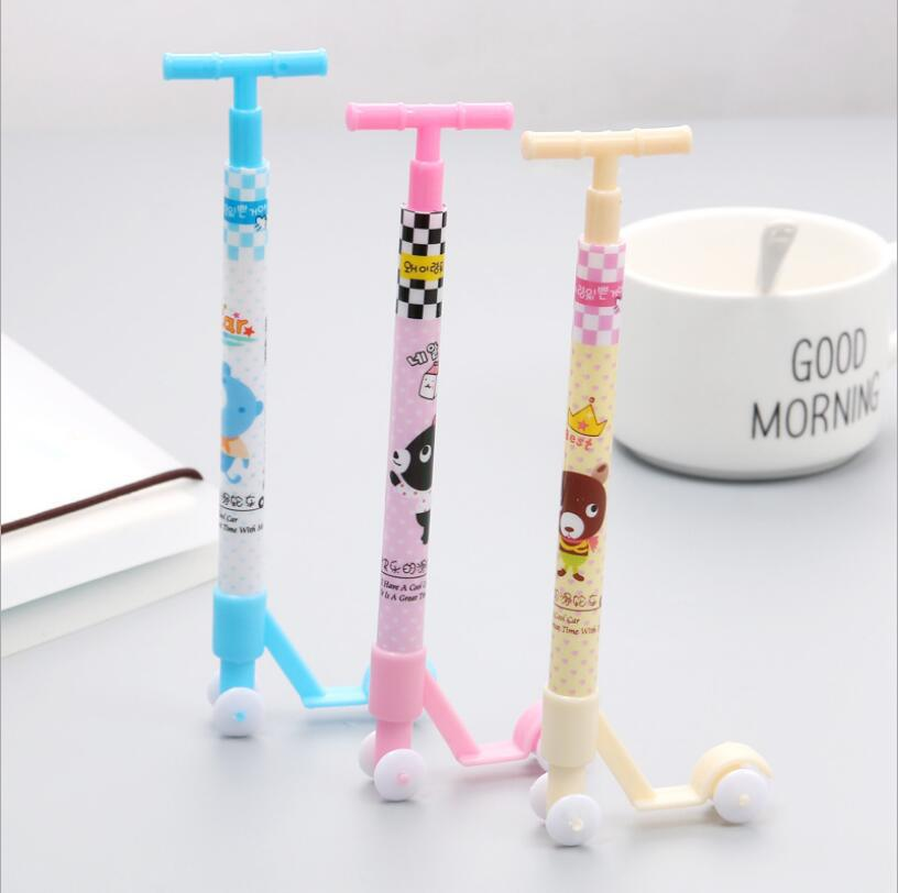 W42 South Korea Stationery Creative Cartoon Office Scooter Other Ballpoint Pen