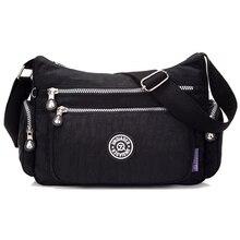Nouveau femmes sacs à main solide voyage étanche épaule sacs messenger nylon sacs pour femmes dames femme bolsa de mode d'été style