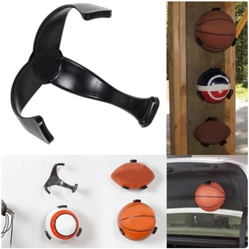 STOOG Ball Claw Basketball Holder Plastic Stand Support Football Soccer Rugby Standing