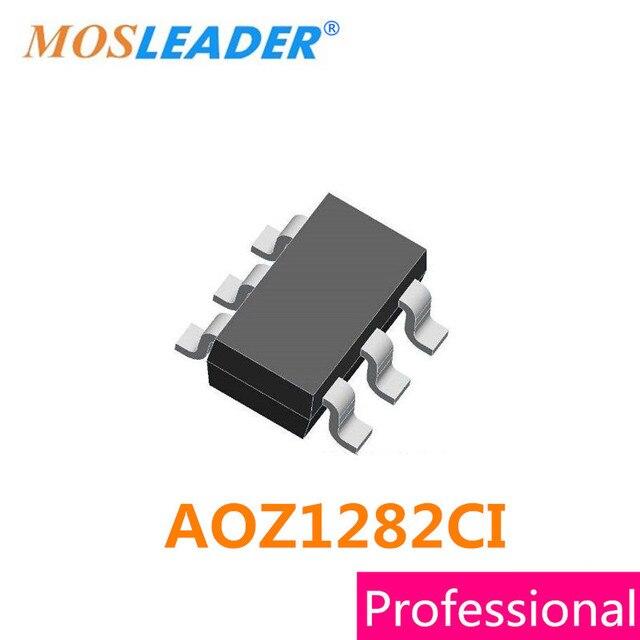 Mosleader AOZ1282CI SOT23 6 100PCS SOT23 6L AOZ1282C AOZ1282 מקורי באיכות גבוהה