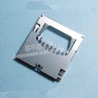 10 cái-500 cái 9 Pin SD Memory Card Jack Nội Bộ Hàn Tự Mùa Xuân Khe Cắm Th