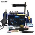 SAIKE 952D 2 in 1 SMD Rework Löten Station Hot Air Gun Solder Eisen Entlöten 220 V 110 V