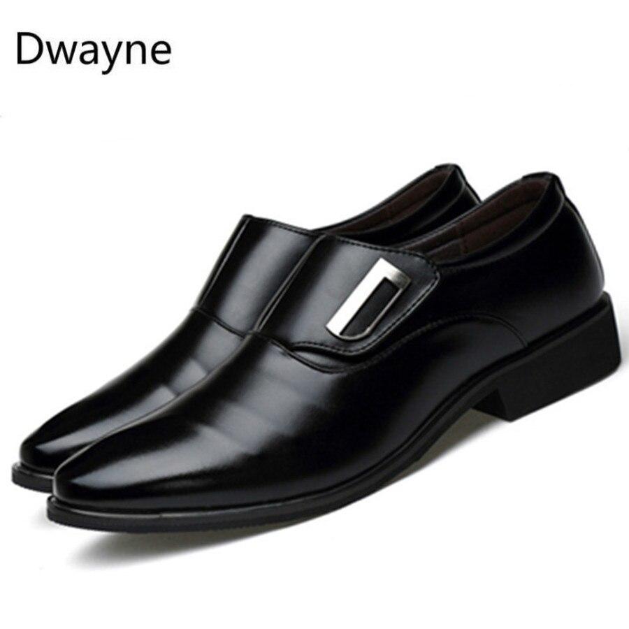 Image 5 - Dwayne/Роскошная брендовая мужская обувь; английский тренд; кожаная обувь для отдыха; дышащая мужская обувь; лоферы; мужская обувь на плоской подошве; большие размеры 37 48-in Мужская повседневная обувь from Обувь