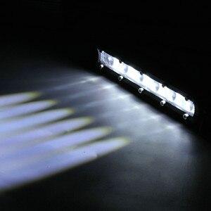 Image 5 - Lámparas LED Para coches 8 pulgadas 60W Barra de luz LED de obra impermeable de foco reflector Para el camino reflector de la lámpara de la niebla Luces Led Para Auto