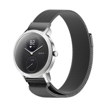 Stainless Steel Milanese Loop Quick Release Wrist Bands for Nokia Withings HR GDeals