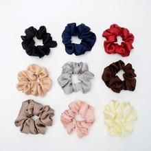 silky Scrunchies for Hair