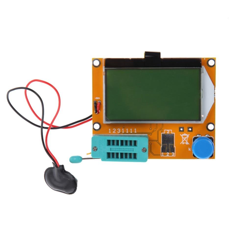 TGETH Mega328 M328 LCR-T4 ESR Meter LCR led Transistor Tester Diode Triode Capacitance MOS PNP/NPN стоимость
