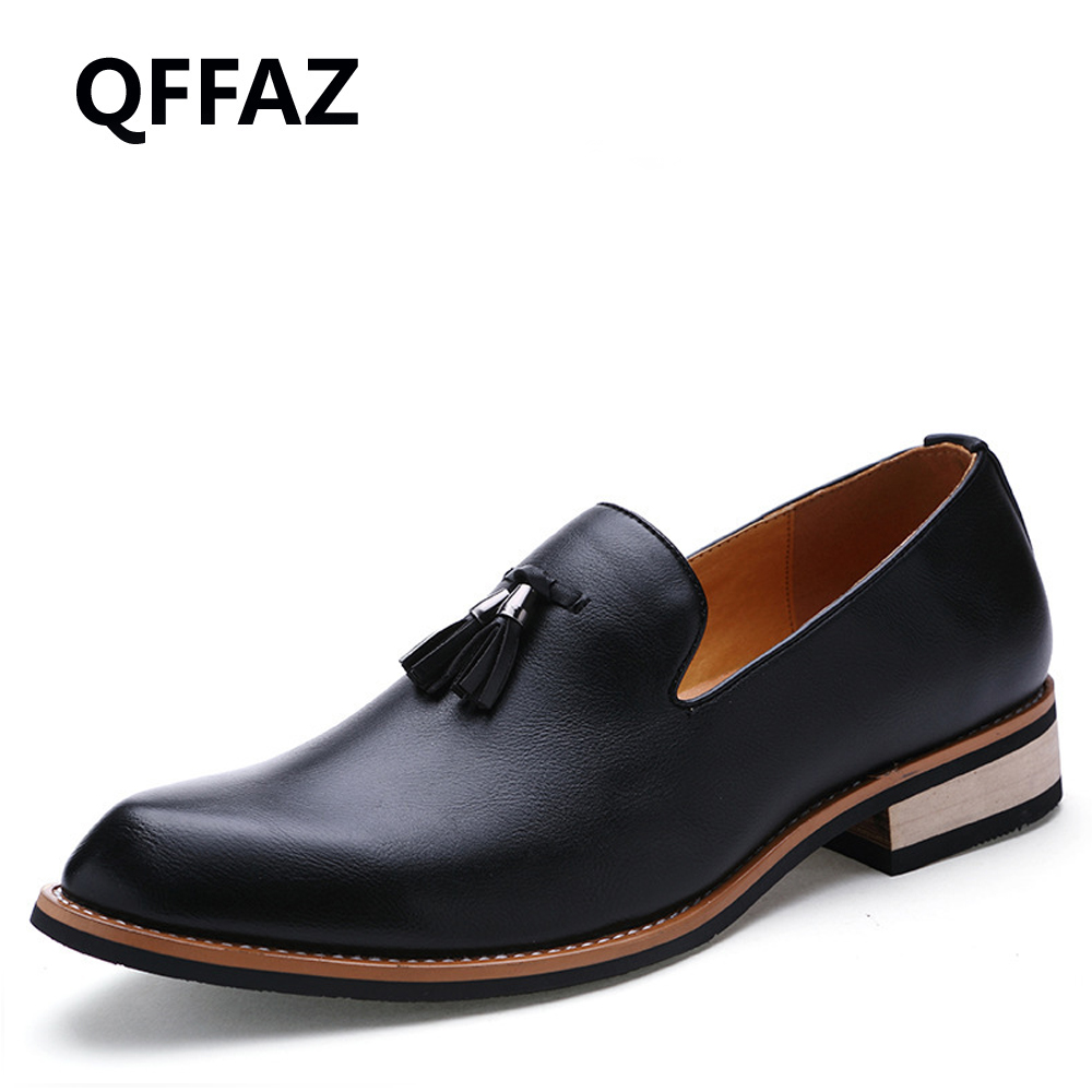 QFFAZ New Spring High Quality Men Shoes Arrival Genuine Leather Men Casual Shoes Fashion Driving Slip On Oxfords Men Flat Shoes 2017 new arrival spring men casual shoes mens trainers breathable mesh shoes male hombre hip hop street shoes high quality