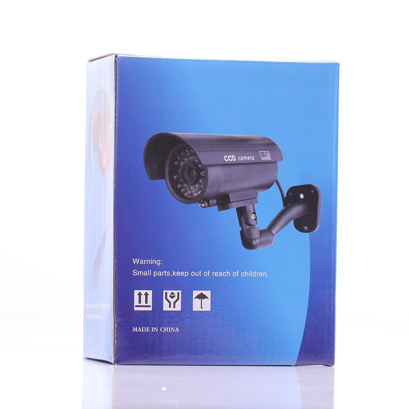 2017 New Arrival Fake Camera Safety Surveillance Camera Fake Monitor Surveillance Cameras Waterproof Black