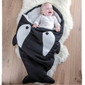 Baby Sleeping Bag Shark Newborn Sleeping Bag Winter Strollers Bed Swaddle Blanket Wrap cute Bedding Baby Sleeping Bag Z071