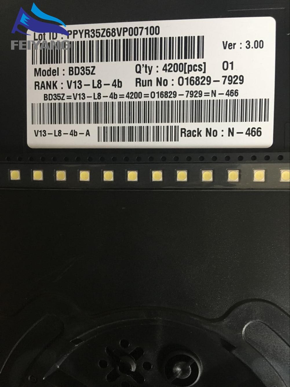 3000pcs FOR LG LED LED Backlight 2W 6V 3535 Cool white LCD Backlight for TV TV Application style-2