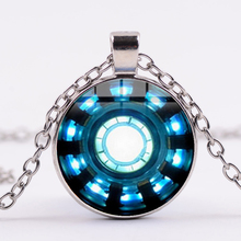 Avengers Glass Dome Necklace