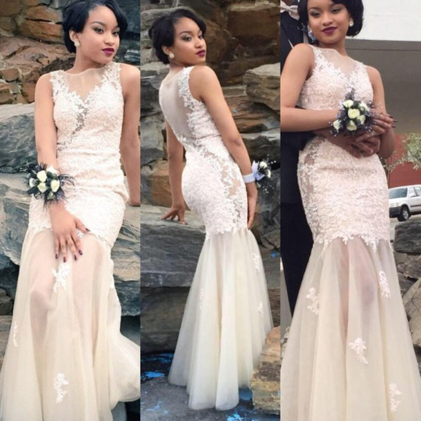 lace appliques vestidos 2018 new fashion crystal party gown new hot sexy see through long prom free shipping   bridesmaid     dresses