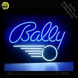 BALLY PINBALL GAME Neon Sign Recreatie Game Kamer MUUR Handwerk Neon Lampen Glazen Buis Store Display Commerciële Lamp VD 17x14