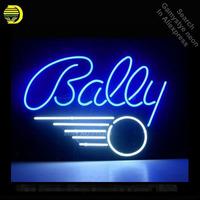 BALLY PINBALL GAME Neon Sign Recreation Game Room WALL Handcraft Neon Bulbs Glass Tube Store Display Commercial Lamp VD 17x14